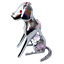Crystocraft-Dog-Crystal-Pet-Ornament-With-Swarovski-Elements-Boxed-Pink-Silver thumbnail 1