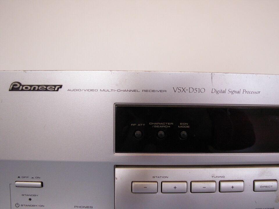 Forstærker, Pioneer, VSX-d510