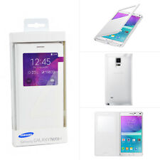 best sneakers 30d88 10a10 Genuine Samsung Galaxy Note 4 S-view Smart Window Flip Cover Case for N910f