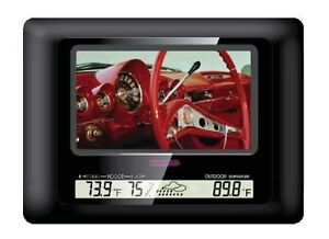 Polaroid 7 Inch Digital Photo Frame Black Glass Xsu 00770b Colour 16