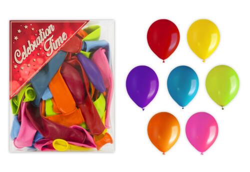 """Surtido de globos de látex de color 9/"""" Mesa De Fiesta Varios Colores Catering"""