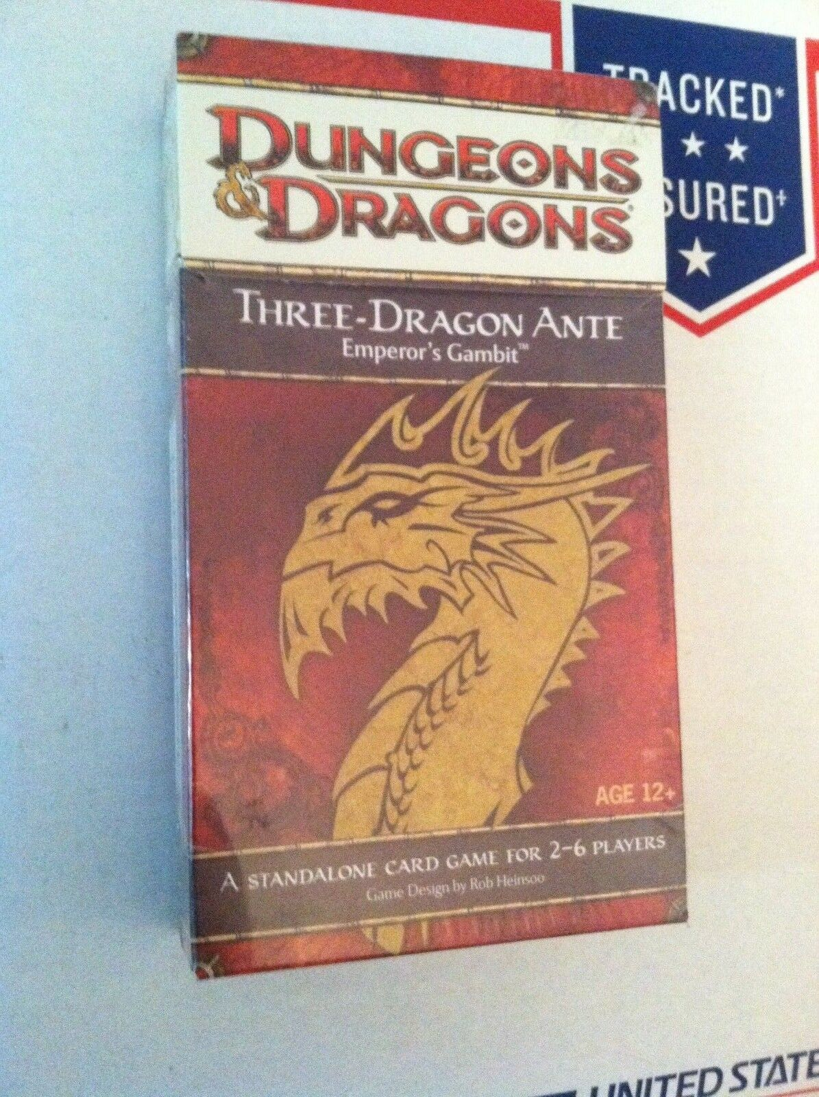 D&D Three-Dragon Ante Emperor's Gambit Card Game Dungeons & & & Dragons SEALED L@@K  6707a4