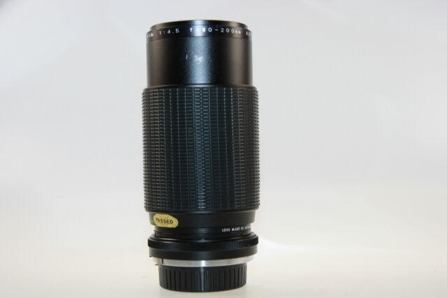 Auto Makinon MC Zoom 1:4,5 80-200mm Objektiv für Minolta MD