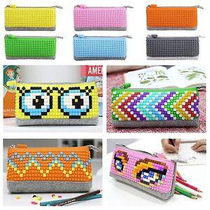 Retro-Upixel-Uanyi-Pixelbags-Pencil-Bag-NEW-FREE-PIXELS-9-COLORS