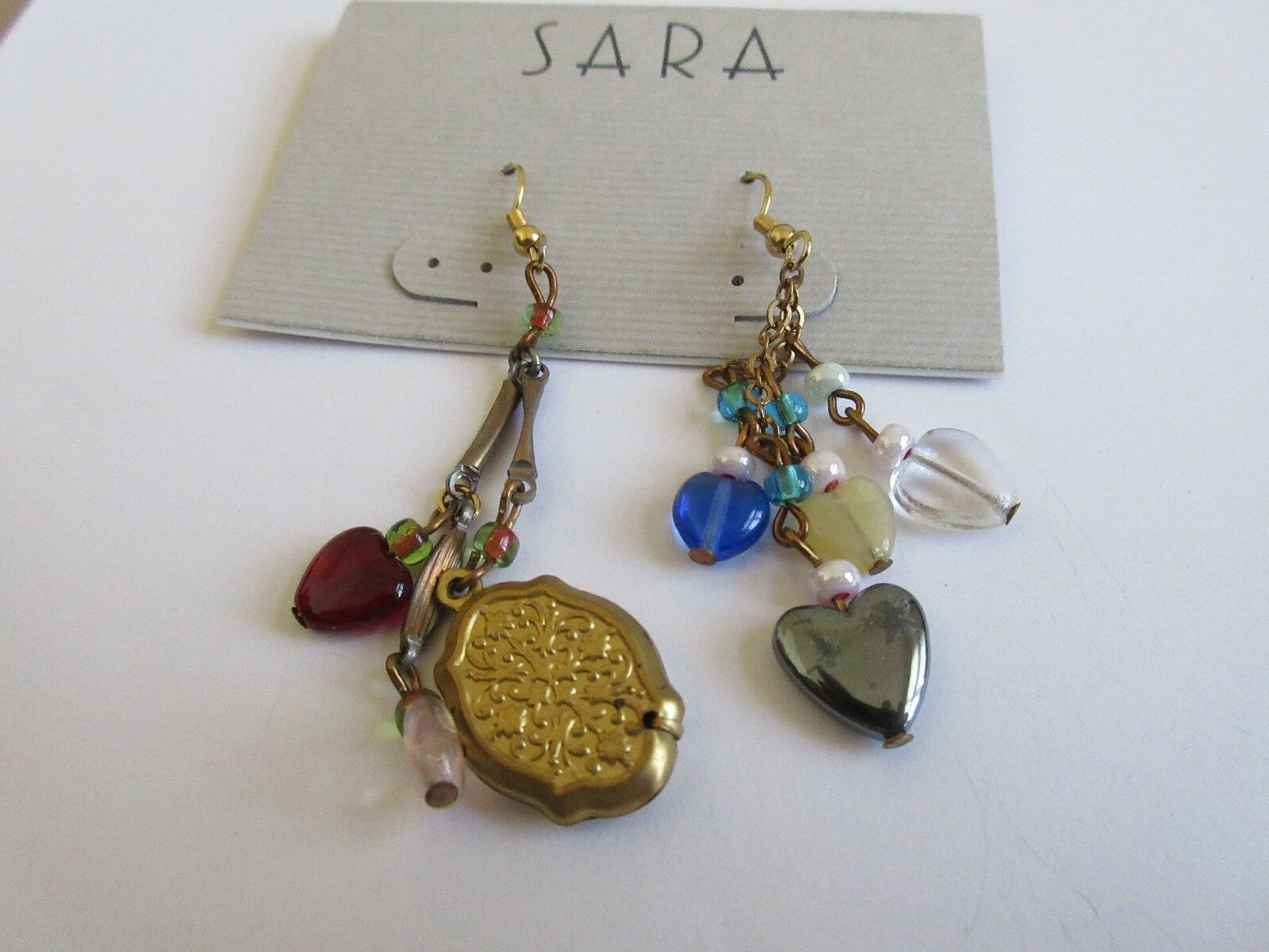 Earrings , Eclectic , Vintage , Retro , 1970s , New / O