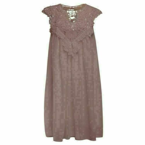 Chiffon sundress dress sleeveless summer maxi cocktail Womens casual boho