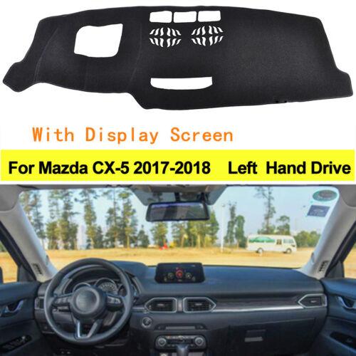 Car Dashboard Mat Cover Anti-Sun For Mazda CX-5 2017-2018 With Display Screen