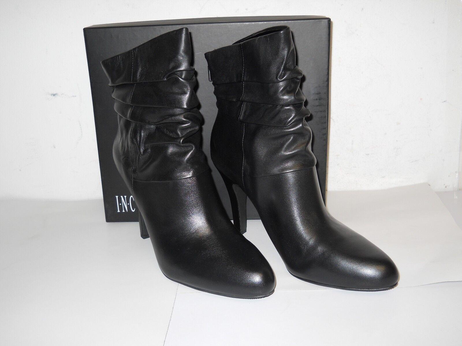 Conceptos internacionales incluido nuevo para mujer de cuero zapatos botas ácida Negro 9.5 M Nuevo Con Caja