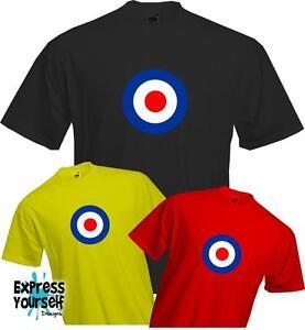 MOD-TARGET-STYLE-T-SHIRT-Retro-Quality-T-Shirt-NEW