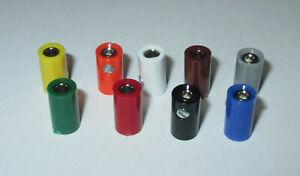 Muffen-2-6mm-10er-Packs-gt-Auswahl-der-Farbe-Stueckzahl
