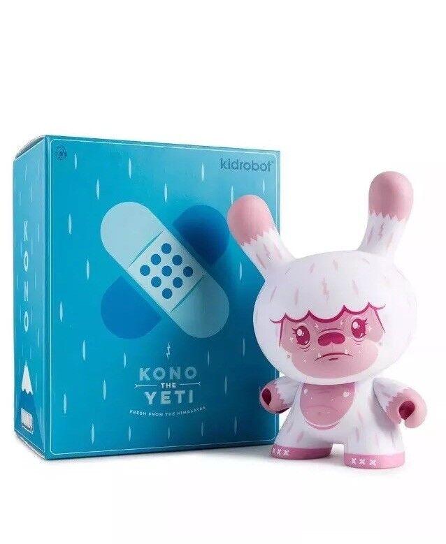 Kidrobot Dunny 8  Squink Kono The Yeti Pink LMT 200 Designer Vinyl Art Wild Ones