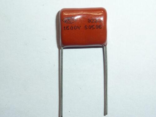 10PCS CBB81 822J 1600V 0.0082UF 8.2NF P15 Metallized Film Capacitor