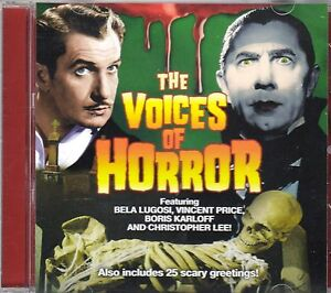 THE VOICES OF HORROR: CLASSIC HALLOWEEN MOVIE LINES, SOUND