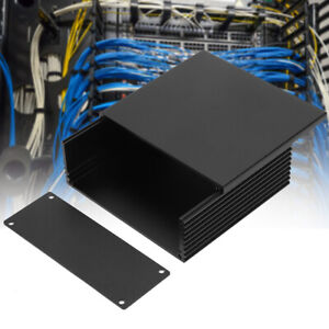 Circuit Board PCB Instrument Aluminum Box DIY Electronic Project Enclosure Case