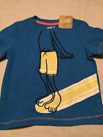 Crazy 8 Boys Short Sleeve T-shirt Size 18-24 Months Swimming Diving Board Nwt