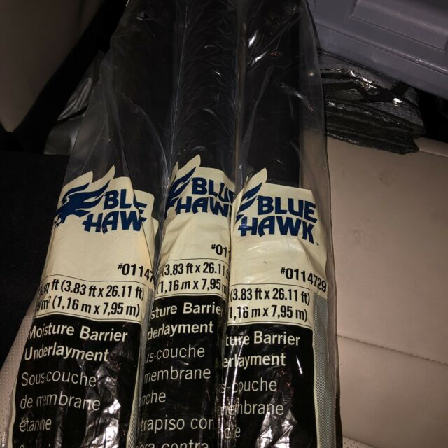 Blue Hawk 100 Sq Ft Premium 0 006 In Flooring Moisture