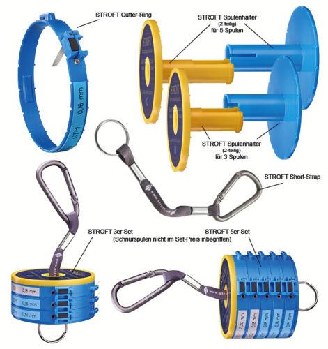 Tippet holder Stroft Leader spool system