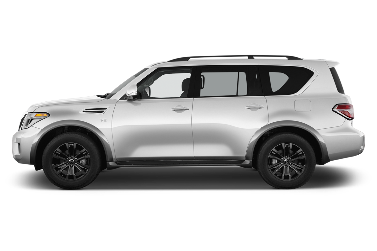 Nissan Armada side view