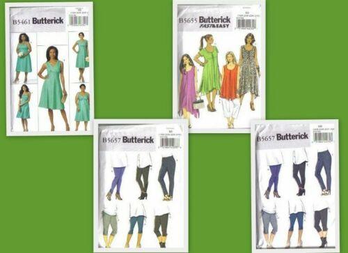 Women/'s Plus Size Full Figure  Your Choice Butterick Sewing Pattern Misses