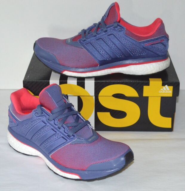 90390c4c8b384 New  130 Adidas Boost Womens Supernova Glide 8 W Running Purple Pink White  5.5