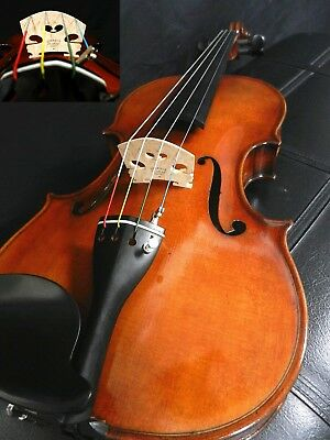 "set Up W/france Bridge & Dominant Strings New! Friendly Professional 15"" Viola"