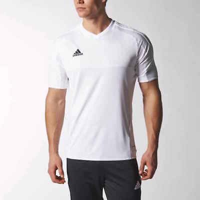 adidas TIRO 15 Men's Soccer Jersey White S22364   eBay