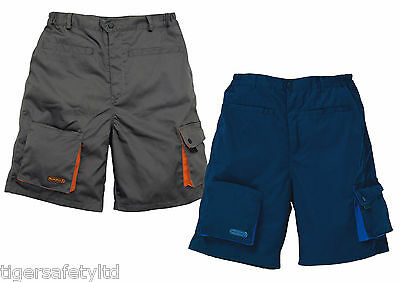 Delta Plus Panoply Mach 2 M2BE2 Mens Bermuda Work Shorts Cargo Shorts Trousers