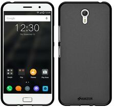 AMZER Exclusive Pudding Matte TPU Fit Case Back Cover For Lenovo ZUK Z1 - Black
