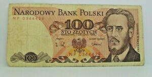 Km# 143e - 100 zlotych 1988 - TB+ - Billet Pologne - N7886