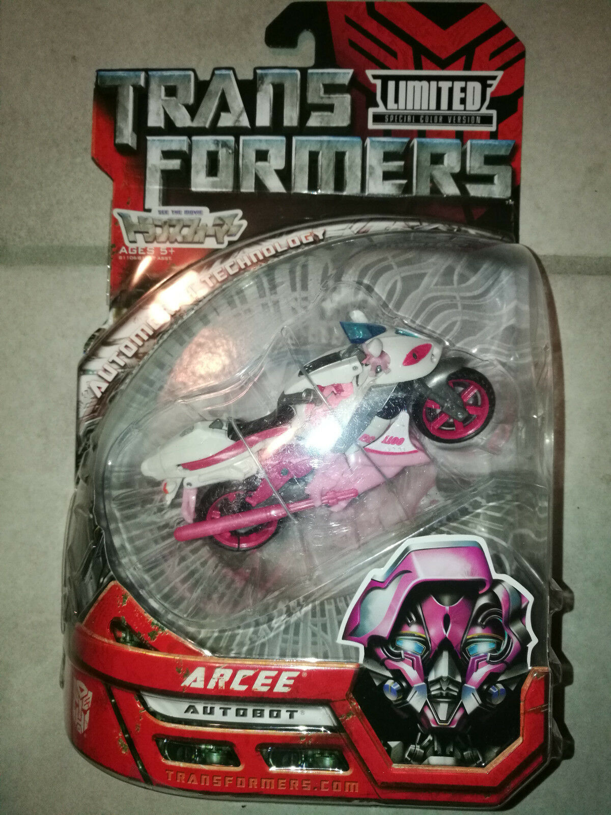 TRANSFORMERS Movie Deluxe TAKARA Wonderfestival g1 Arcee Repaint RARE