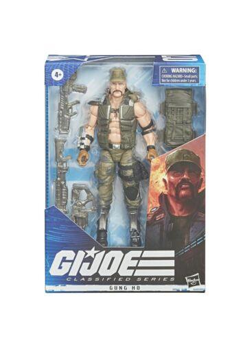G.I JOE classés 6 in environ 15.24 cm figurine GUNG HO #07 en stock jour même navire