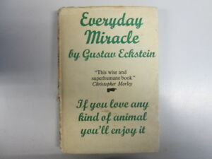 Acceptable  Everyday Miracle  Gustav Eckstein 19490101 Cracked hinge 235 pa - Ammanford, United Kingdom - Acceptable  Everyday Miracle  Gustav Eckstein 19490101 Cracked hinge 235 pa - Ammanford, United Kingdom