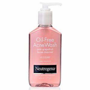 Neutrogena Oil Free Acne Wash PINK GRAPEFRUIT 6 FL oz (177 mL) Exp. Date 2022/05