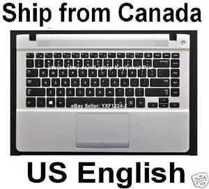 Keyboard TopCase for SAMSUNG nc110 nc210 BA75-02921A  US English