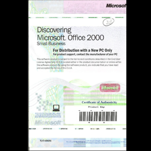 Details about Discovering Microsoft Office 2000 Small Business PC With  Product Key NO CD