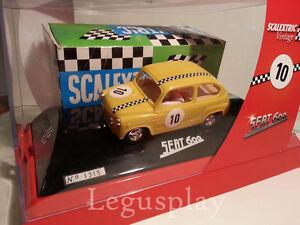 Slot Scx Scalextric Vintage 6457 Siège 600 Tecnitoys Nº10 - Nouveau