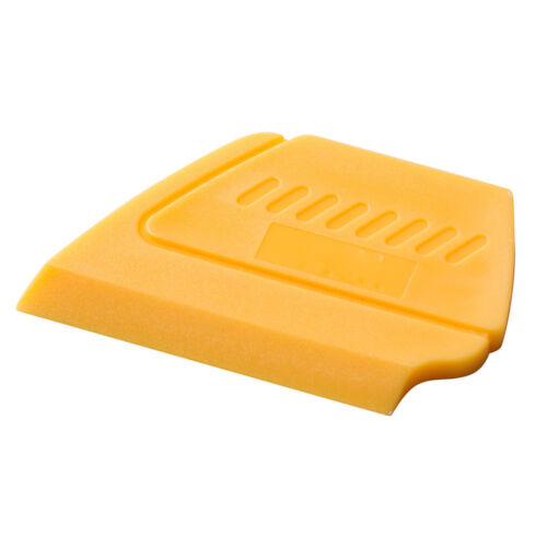1 PC Vinyl Squeegee Quick Fix Mini Yellow Hard Card Car Wrapping Removal Tools