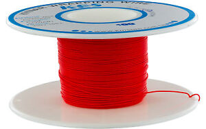 KYNAR-WIRE-RED-5-Meters-15-Feet-Xbox-Wii-PS3-360-Mod-Modding-Wrapping