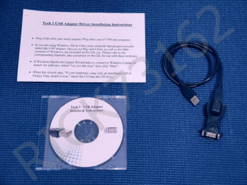 Tech 2 to PC Interface Kit Plugs right into USB port!