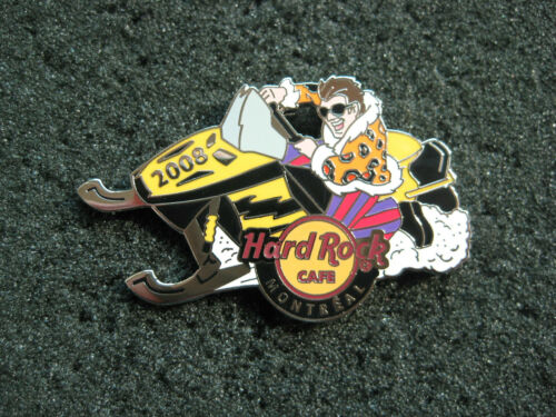 Hard Rock Cafe MONTREAL HOT 2008 SKIDOO PIN!