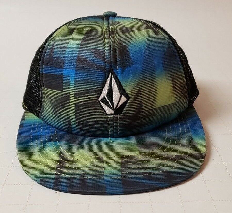 Volcom Snap Back Trucker Cap - Printed Printed Printed Stone Cheese Hat 5e9a25