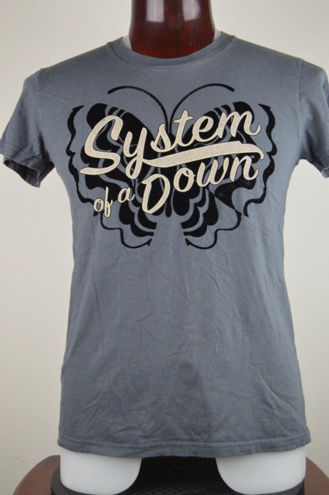 System of a Down  Herren 2XL grau Graphic T Shirt Alternative Nu Progressive Metal