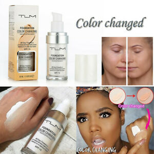 TLM-Flawless-Color-Changing-Foundation-Makeup-Base-Face-Liquid-Cover-Concealer