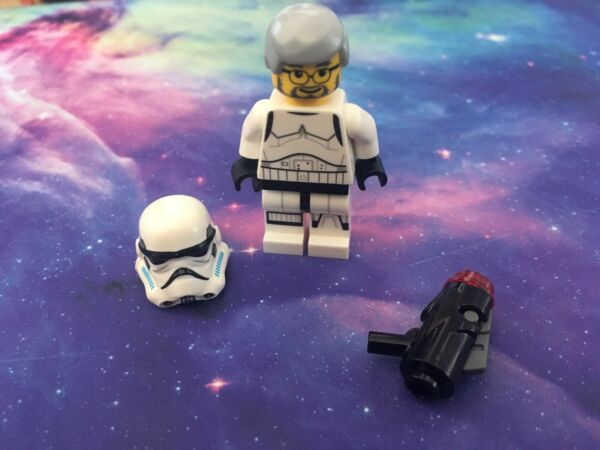 Lego Star Wars George Lucas Stormtrooper V2, Rare édition Limitée