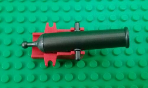 *NEW* Lego Cannon Red Base Spring loaded Imperial Pirate Ships x 1 piece