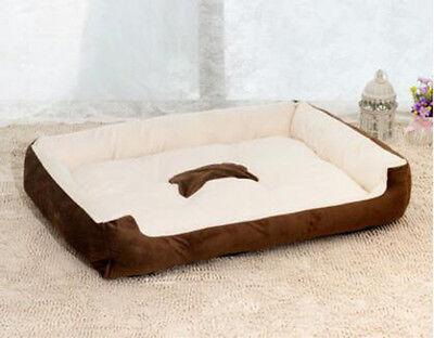 XXS~XL Heavy Duty Cotton Soft Extra Large Dog Bed Pet Cat Cushion Mattress Pad