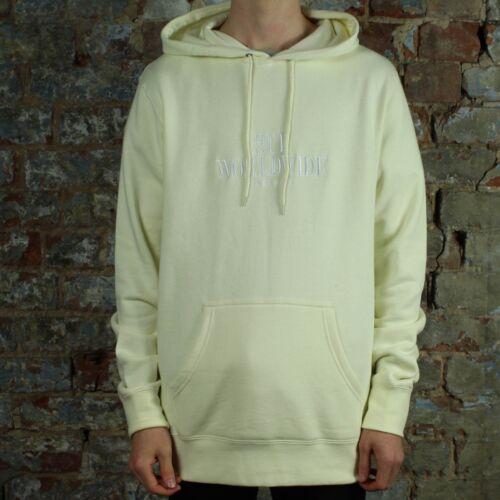 Huf Hoodie Sweatshirt Serif Off Pullover maat In Stack L White CcCaq4