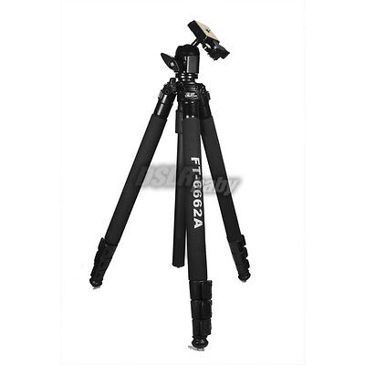 Professional DV DSLR Camera Tripod for Canon Sony Nikon Olympus Pentax FT-6662A