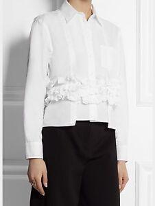 Marni-Ruffled-White-Shirt-Size-38