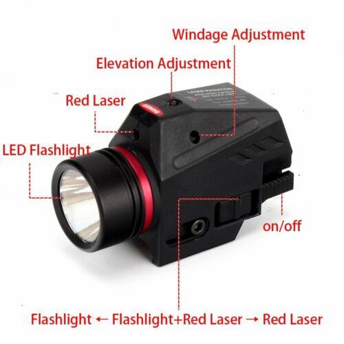Lampe de Poche Laser Rouge Monture de Style Picatinny Weaver Pour Visée Cible